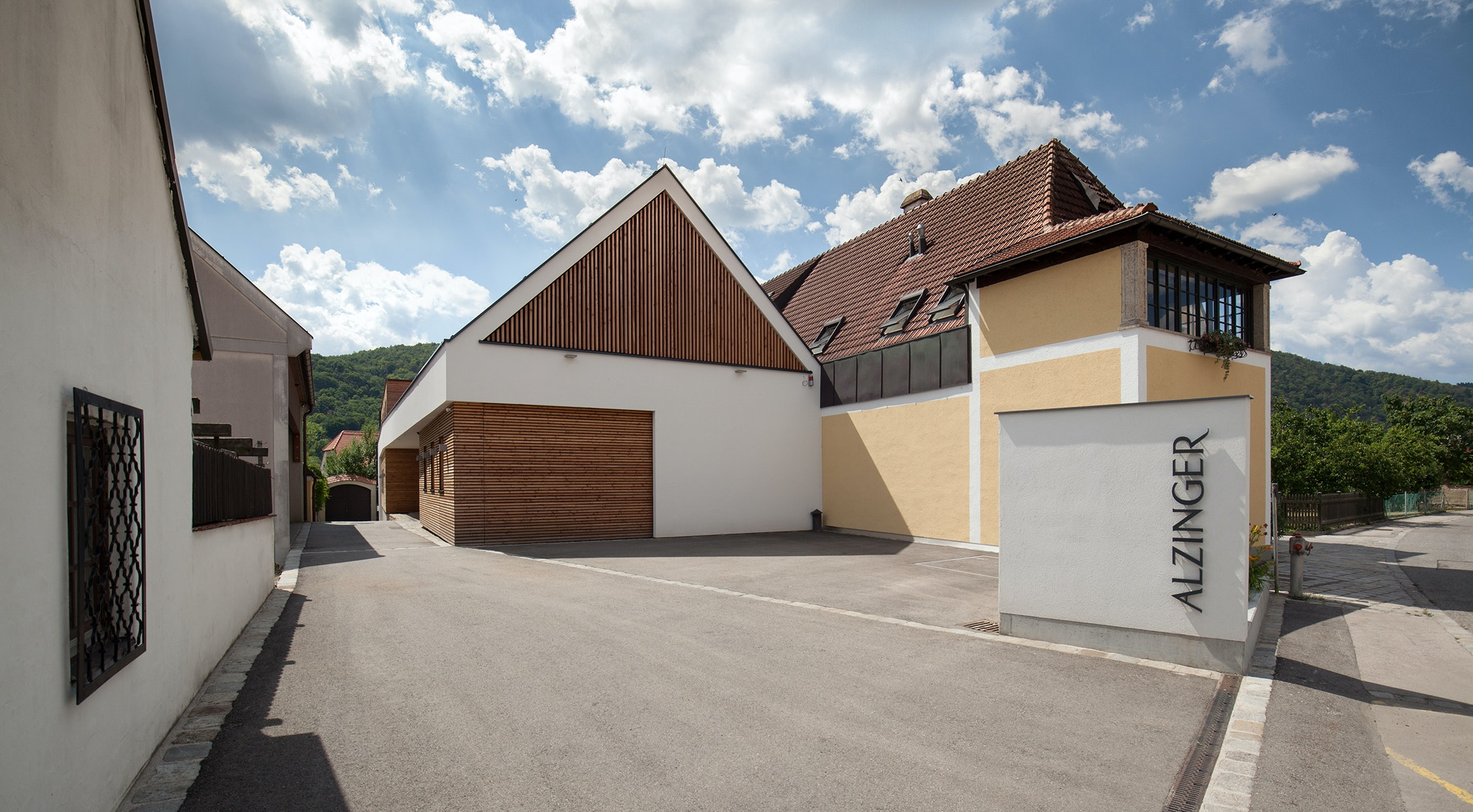 At Weingut Alzinger, single-vineyard wines showcase the complexities of the Wachau terrain.