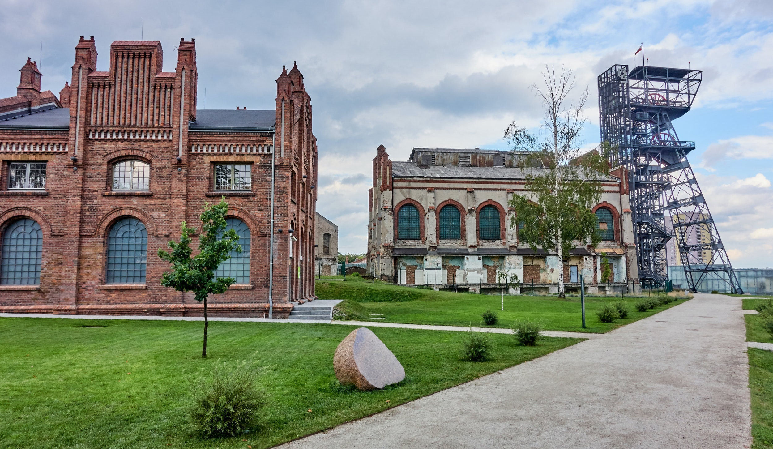 The new Silesian Museum is part of Katowice's cultural appeal.