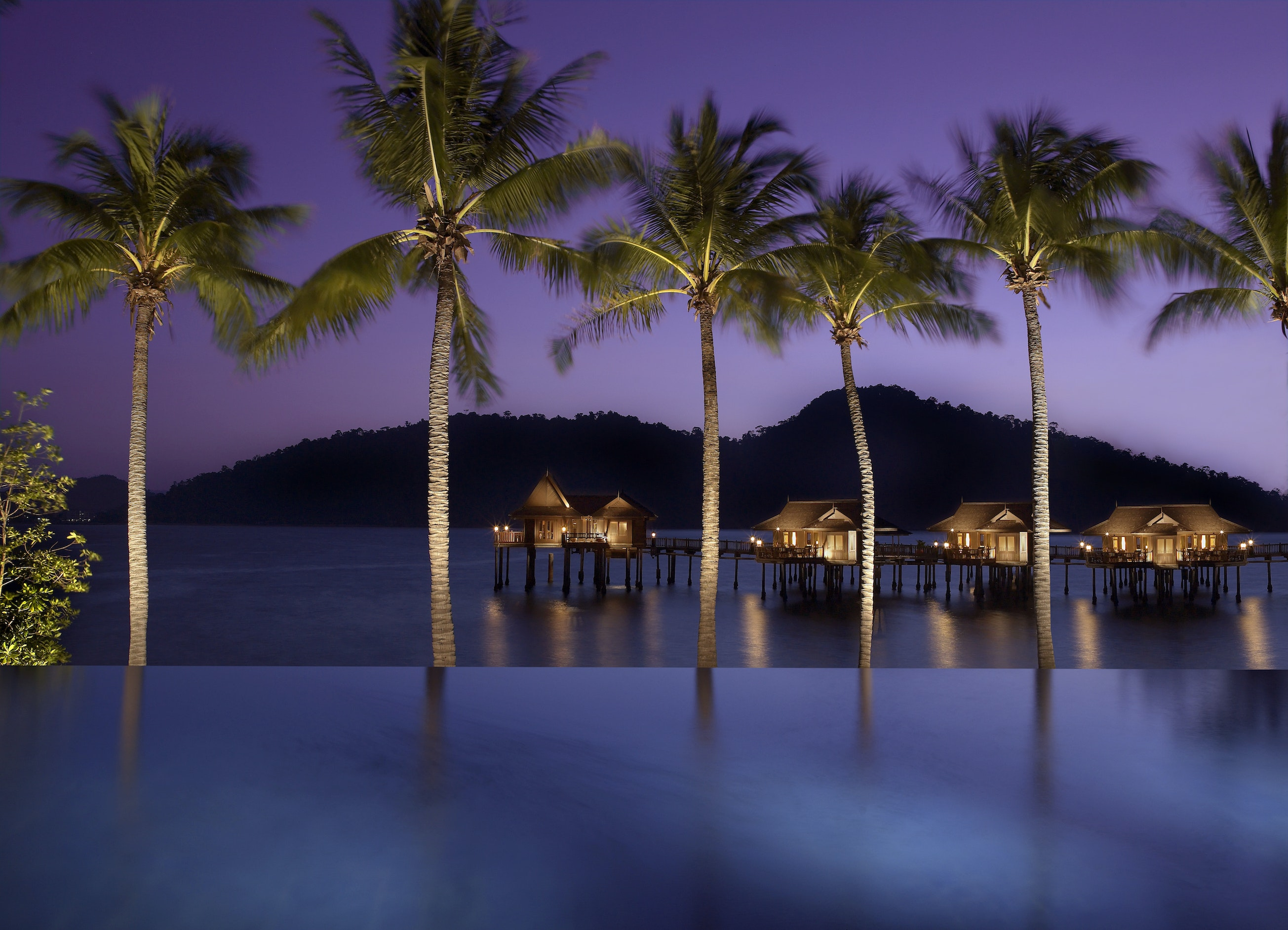 Pangkor Laut Resort in Malaysia is another SLH property participating in the Hyatt loyalty program.