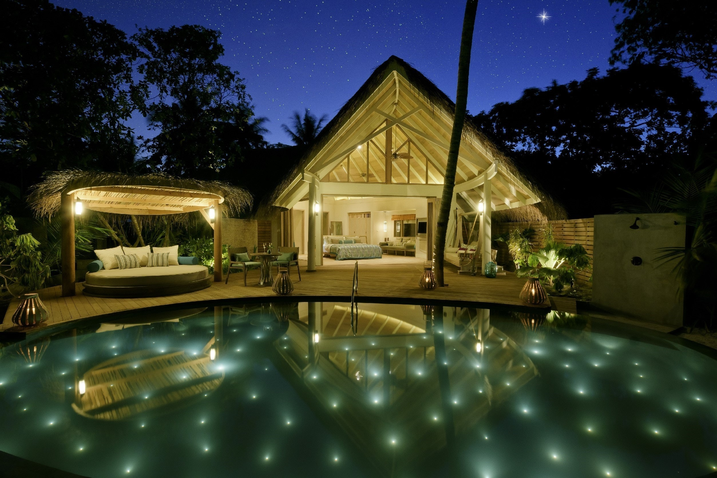 At Milaidhoo Resort, you'll recieve an actual star