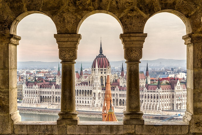 Budapest is the perfect mix of old and new–with swanky restaurants helmed by world-class chefs and plenty of picturesque Gothic architecture.