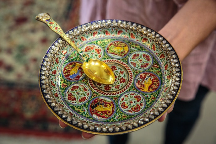 High-end clientele frequent The Gem Palace for its beautiful wares.