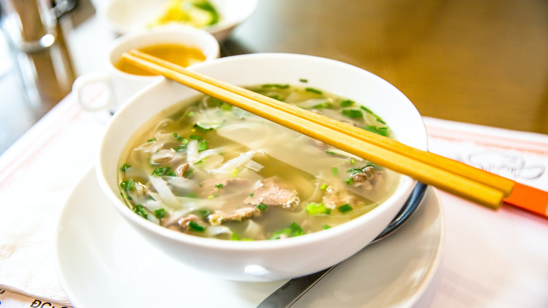 Pho is one of Vietnam's most well-known dishes.