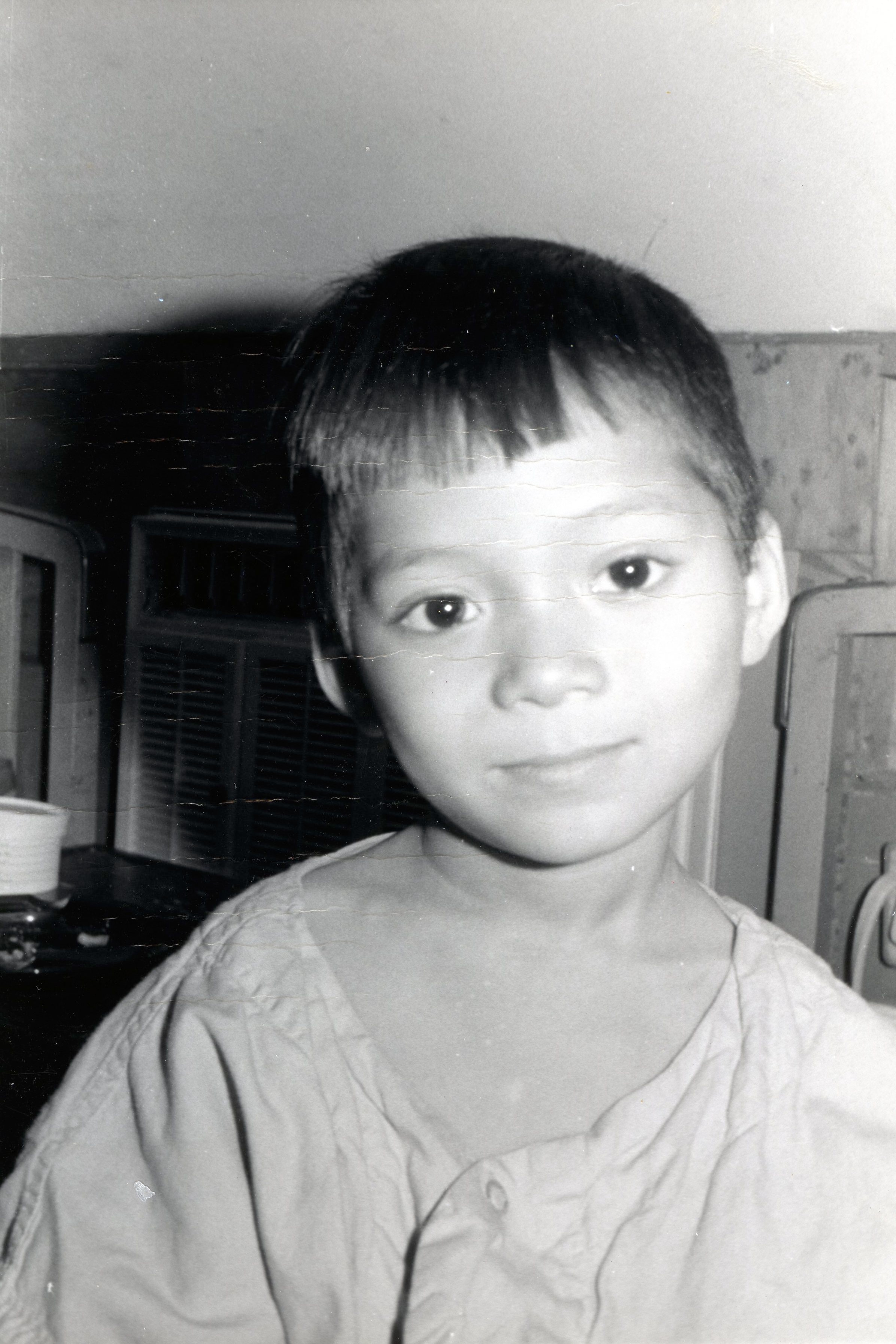 Lisa Abend's father worked as a surgeon during the Vietnam War and operated on the young boy pictured above.