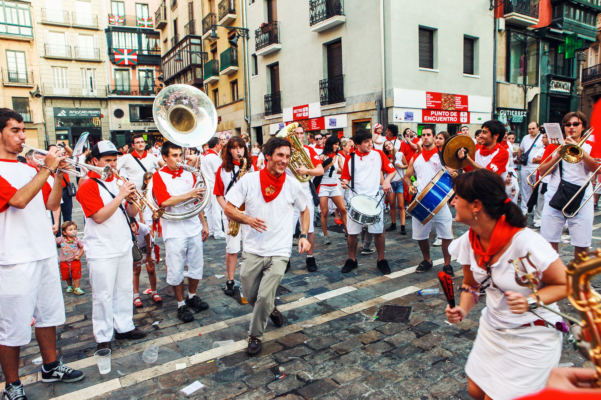 """San Fermín's eight days of events were central to the plot of """"The Sun Also Rises"""" by Ernest Hemingway."""