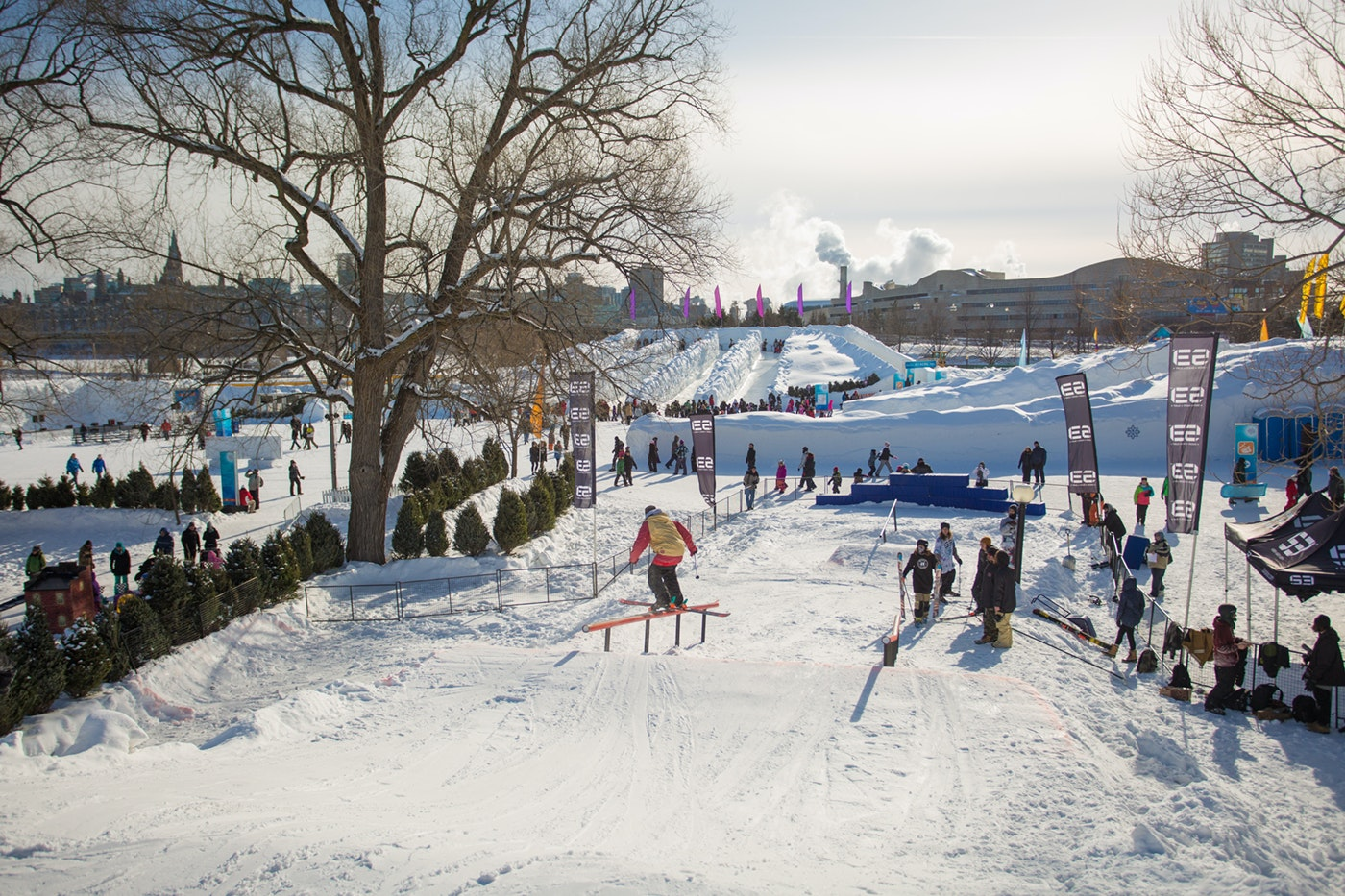 Ottawa attracts huge crowds for its Winterlude, which offers every winter activity you can think of (and then some).