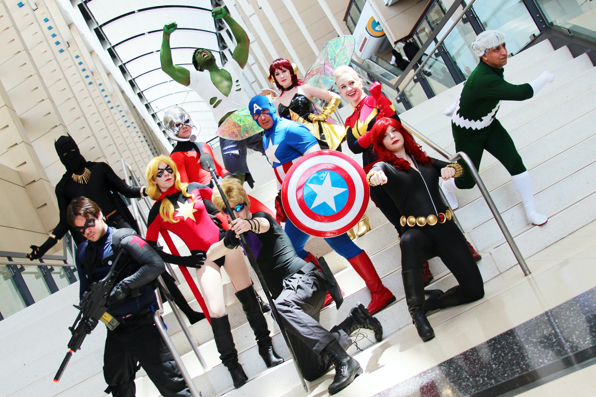 Avengers cosplay at the Chicago Comic and Entertainment Expo