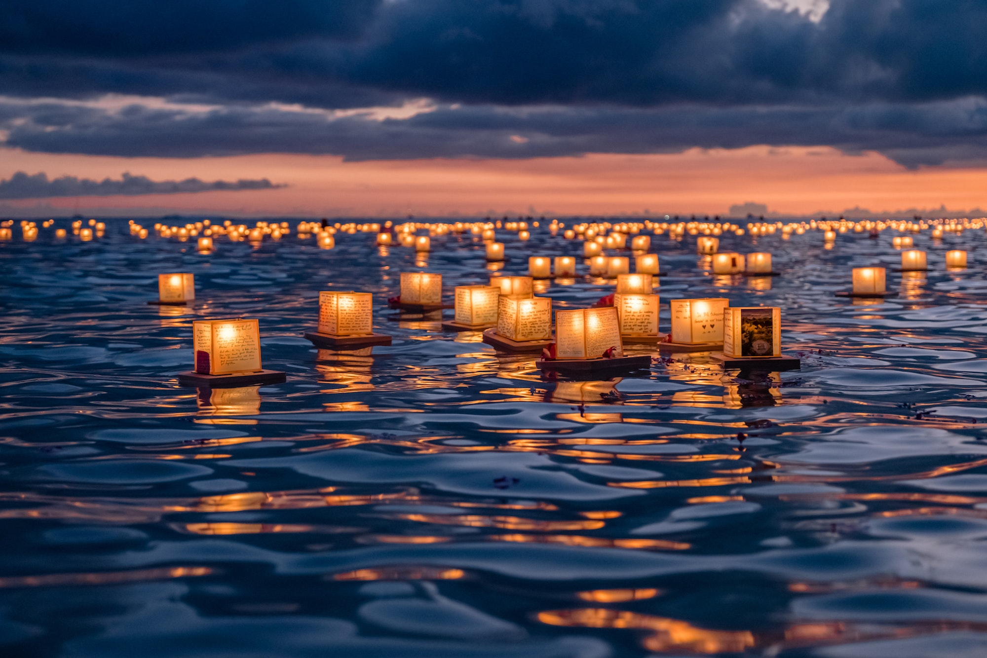 Lantern Floating Hawaii brings together over 40,000 people on the south shore of Oahu.