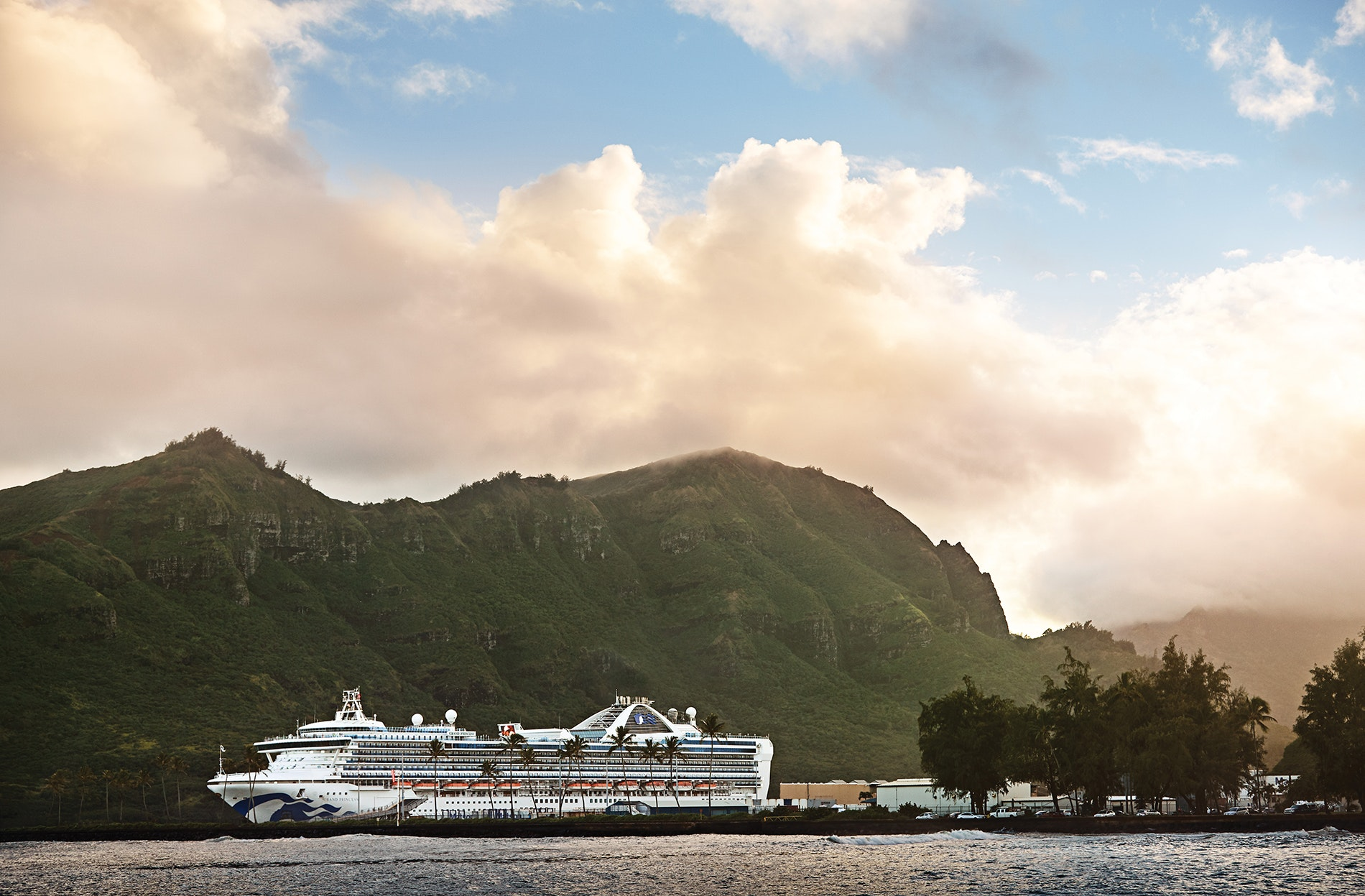 Skip the flight and sail directly from the U.S. mainland to Hawaii—Princess makes the journey, round-trip, from destinations like San Francisco and Los Angeles.