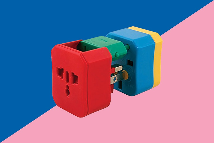 Flight 001's 4-in-1 Universal Travel Adapter can adapt to more than 150 countries.