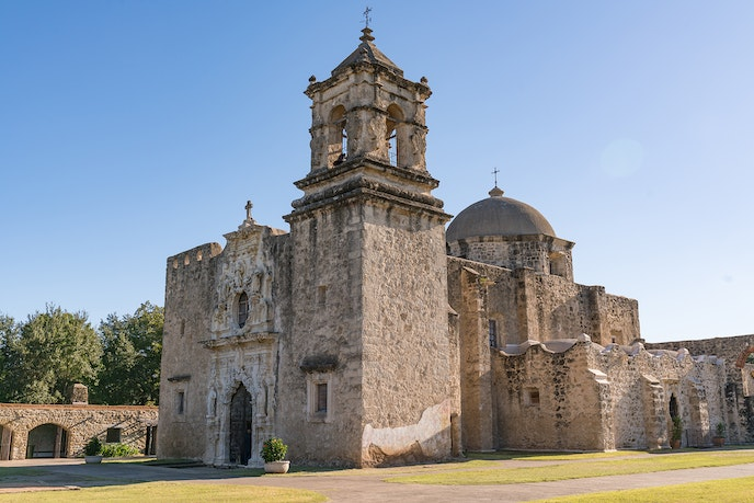 Mission San Jose is one of the stops in San Antonio Missions National Historical Park.