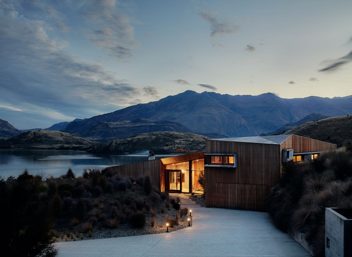 Te Kahu in New Zealand has won awards for its design.