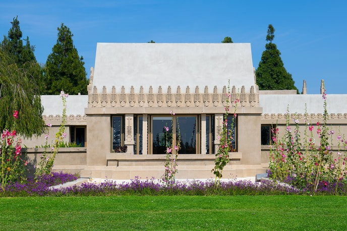 Hollyhock House is the first UNESCO site in Los Angeles.