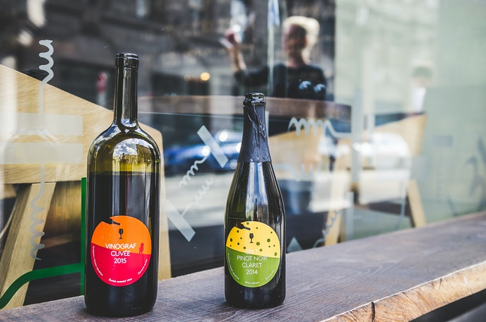 Natural wine is typically produced without advanced technology and with minimal intervention from the winemaker.