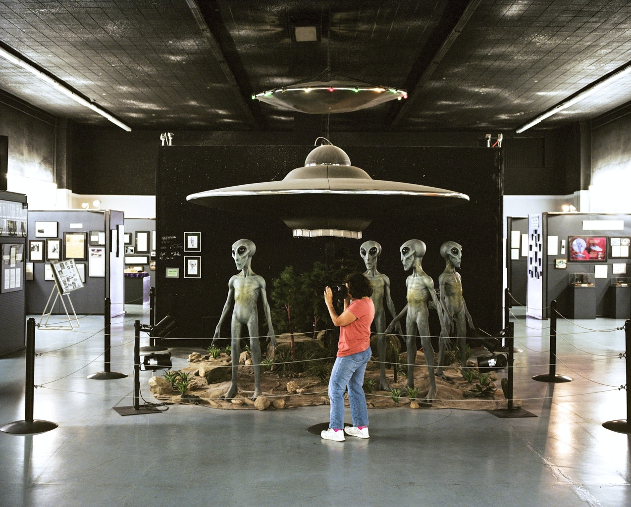 The International UFO Museum in Roswell, New Mexico, focuses largely on the supposed UFO crash that took place in the town in 1947.