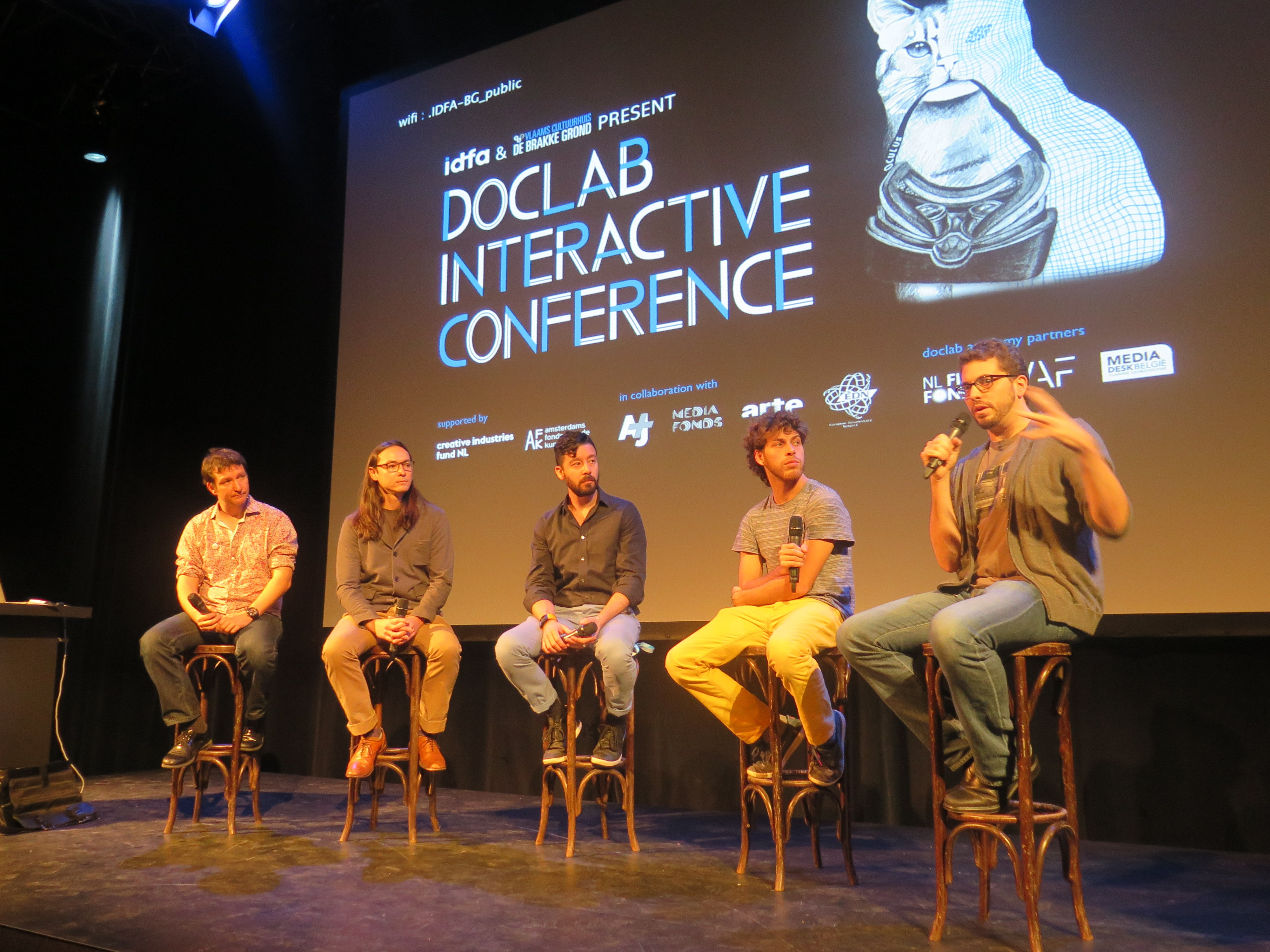 DocLab Conference at IDFA 2014