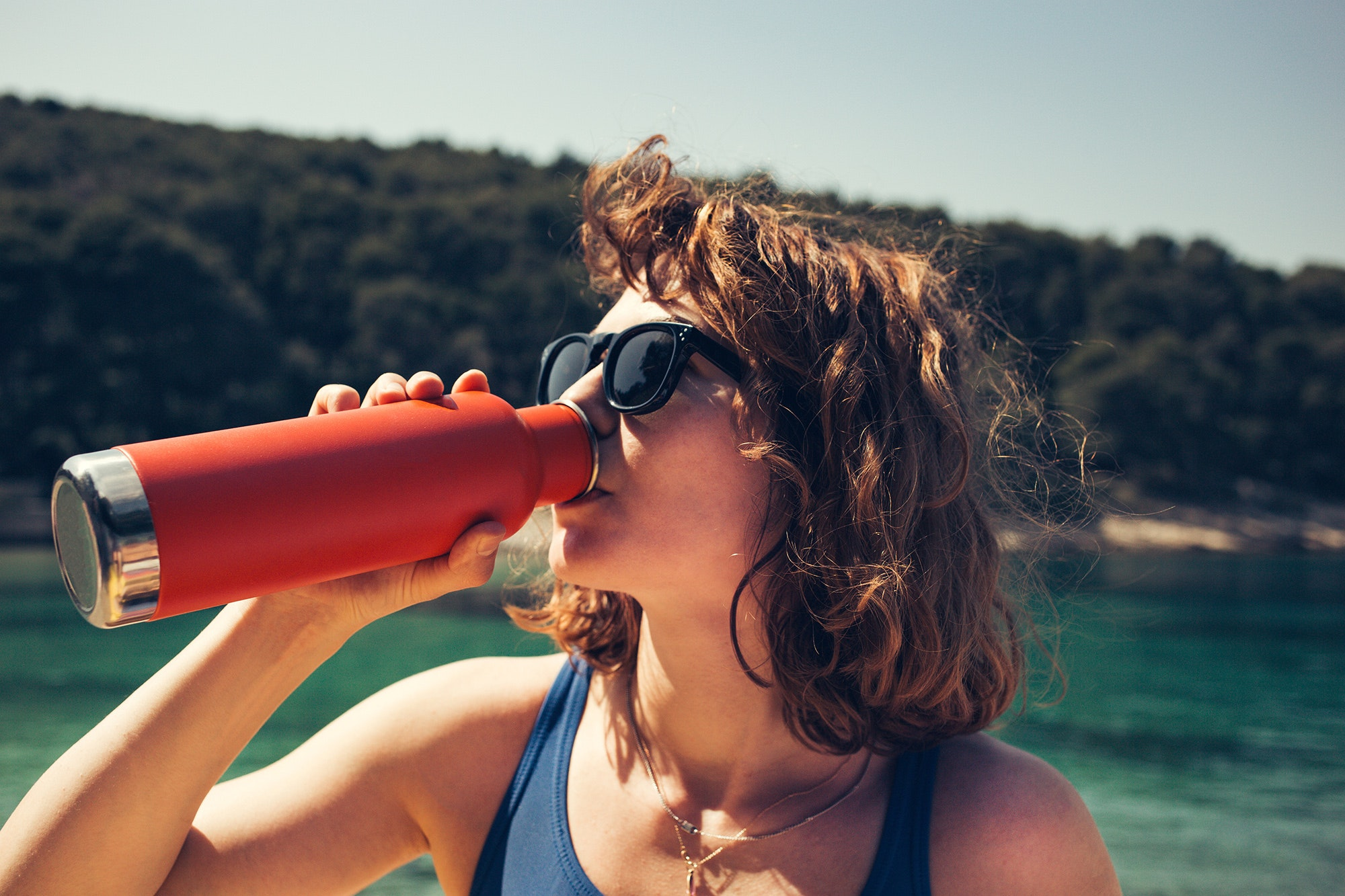 Packing a reusable water bottle is one of the easiest ways to eliminate waste while traveling.