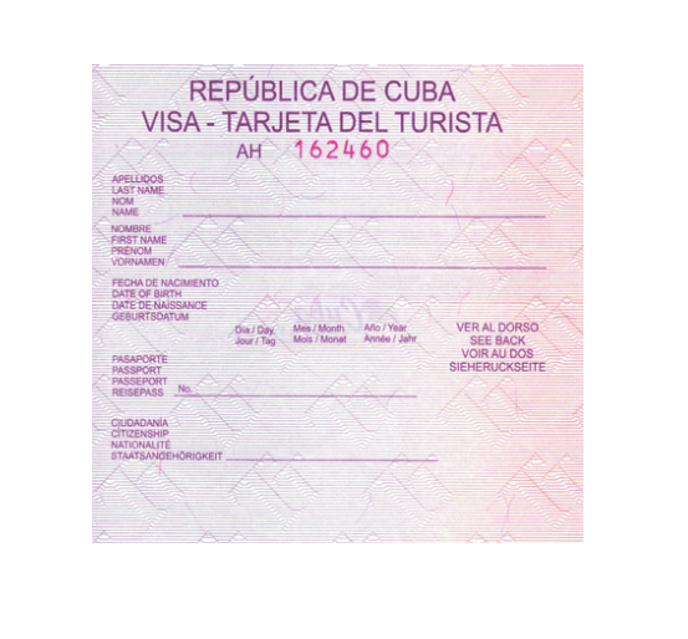 Cuban Tourist Cards are not Cuban visas, though the terms are sometimes used interchangeably.