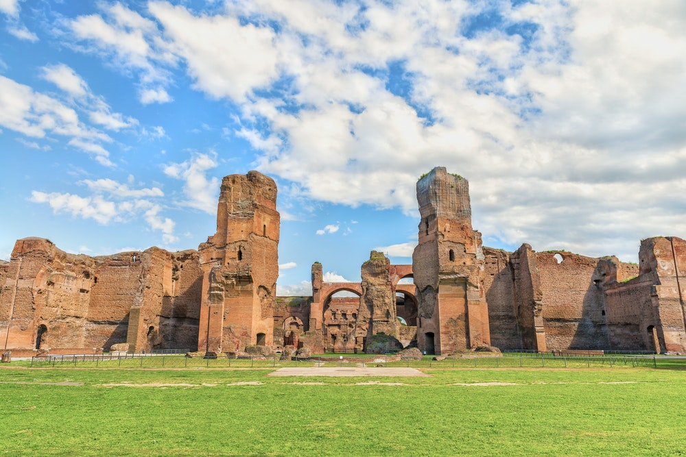 """The Baths of Caracalla have been the backdrop for """"La Dolce Vita"""" and """"The Great Beauty."""""""