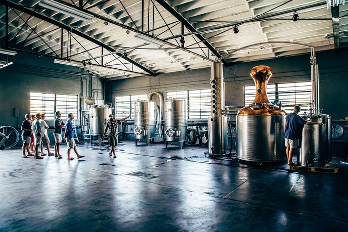 High Wire Distilling is not simply making bourbon—it's reviving heritage grains once grown here.