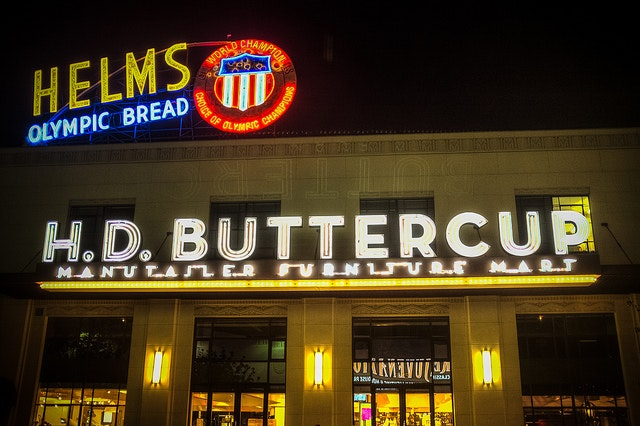 H.D. Buttercup in Culver City