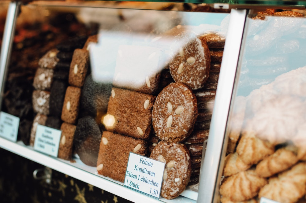 Gingerbread treats are some of the many tasty foods to munch on at Christmas markets.