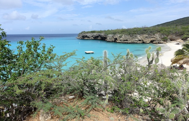Curacao is surrounded by those iconic blue Caribbean waters