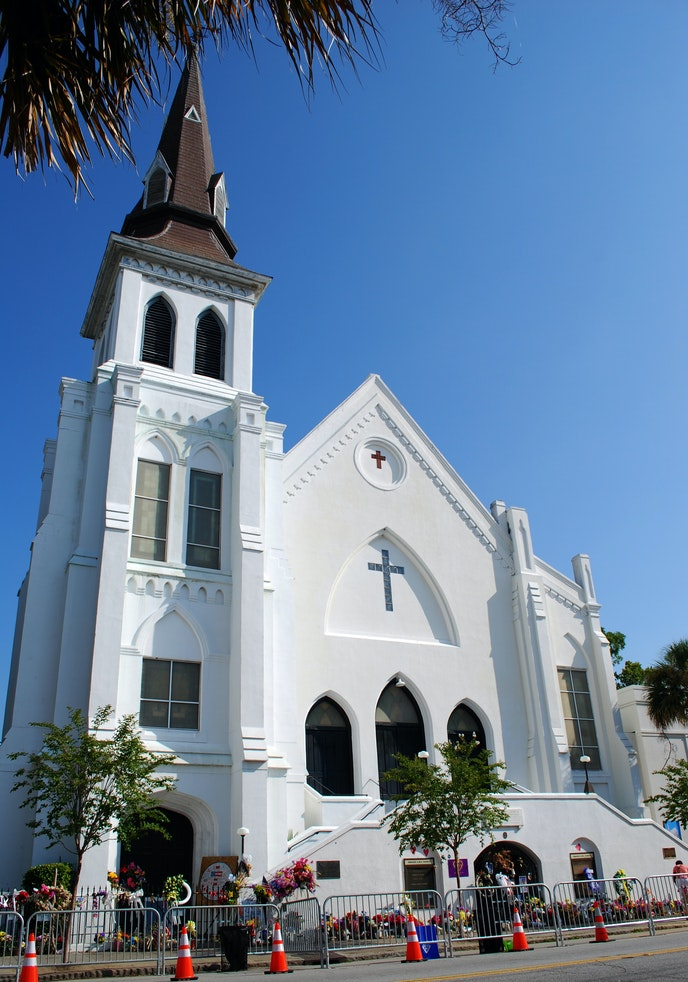 Founded in 1816, Charleston's Mother Emanuel church is the oldest African Methodist Episcopal church in the southern United States.