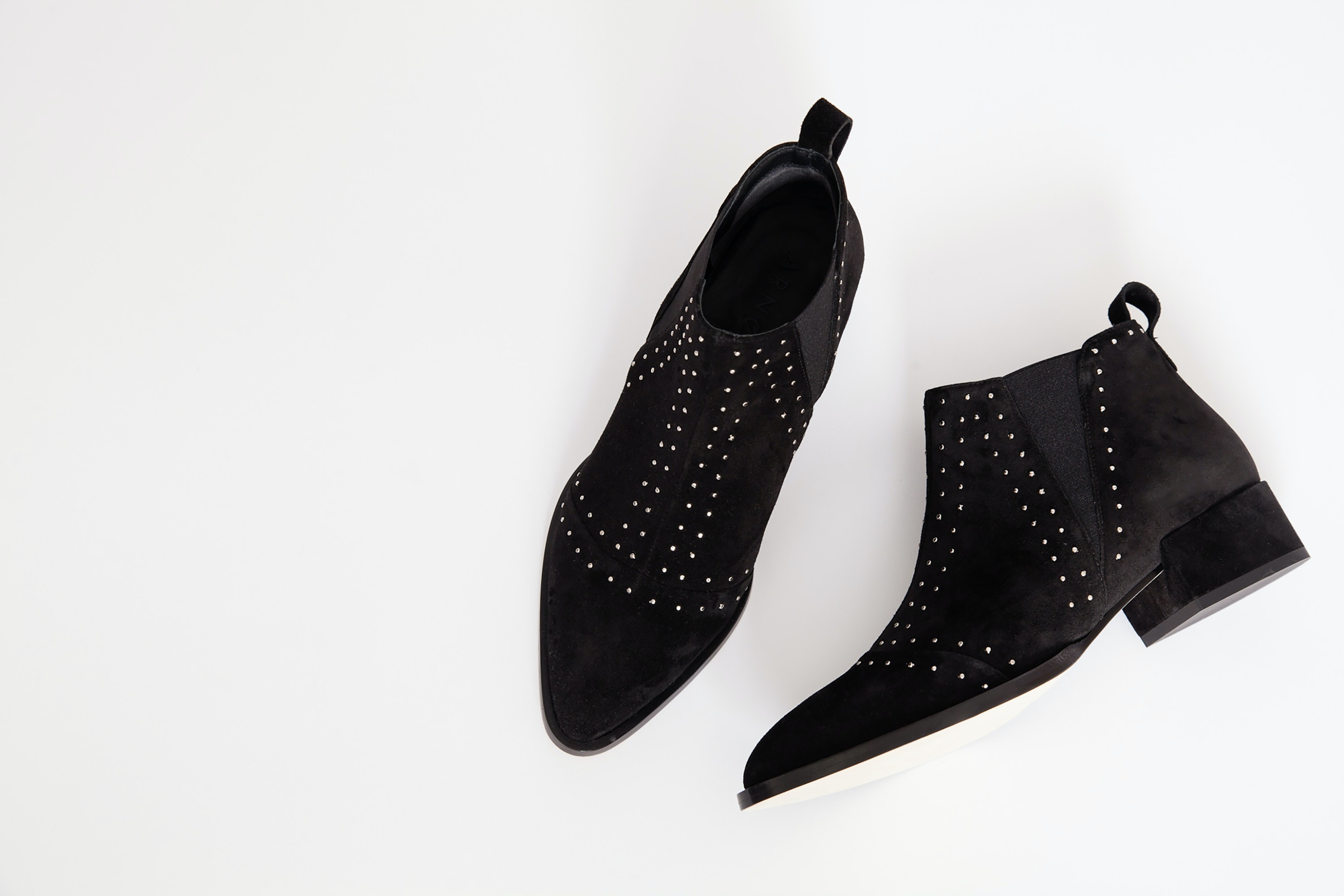 Despite the small heel, you could walk for miles in Arno Collective's Sera bootie.