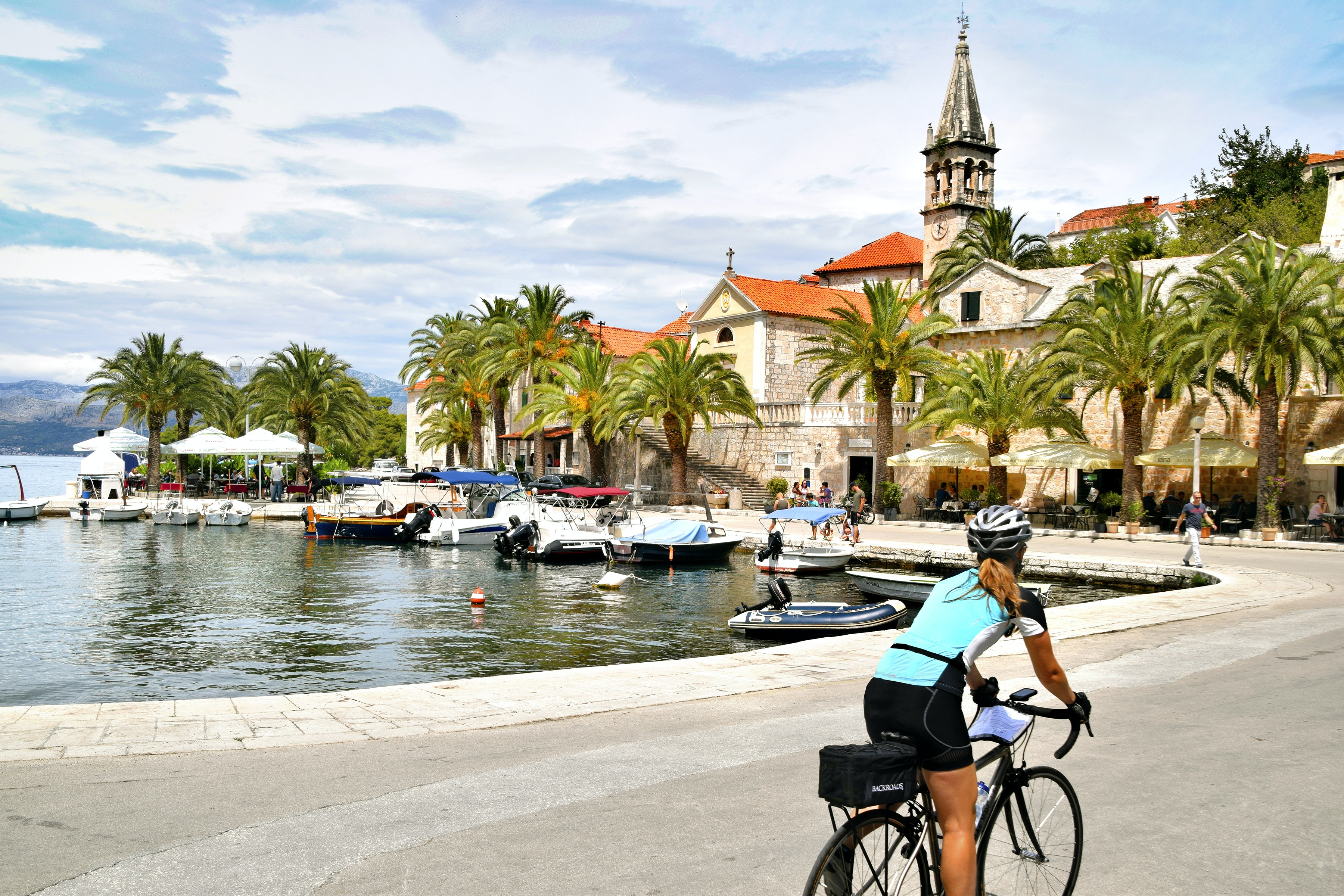 Feel the wind in your hair as you cruise through Croatia and Slovenia with Backroads.
