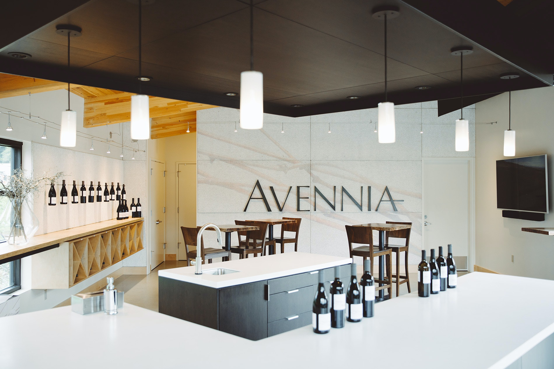 Avennia's wines are polished and pure, not unlike its sleek and modern tasting room in Woodinville.