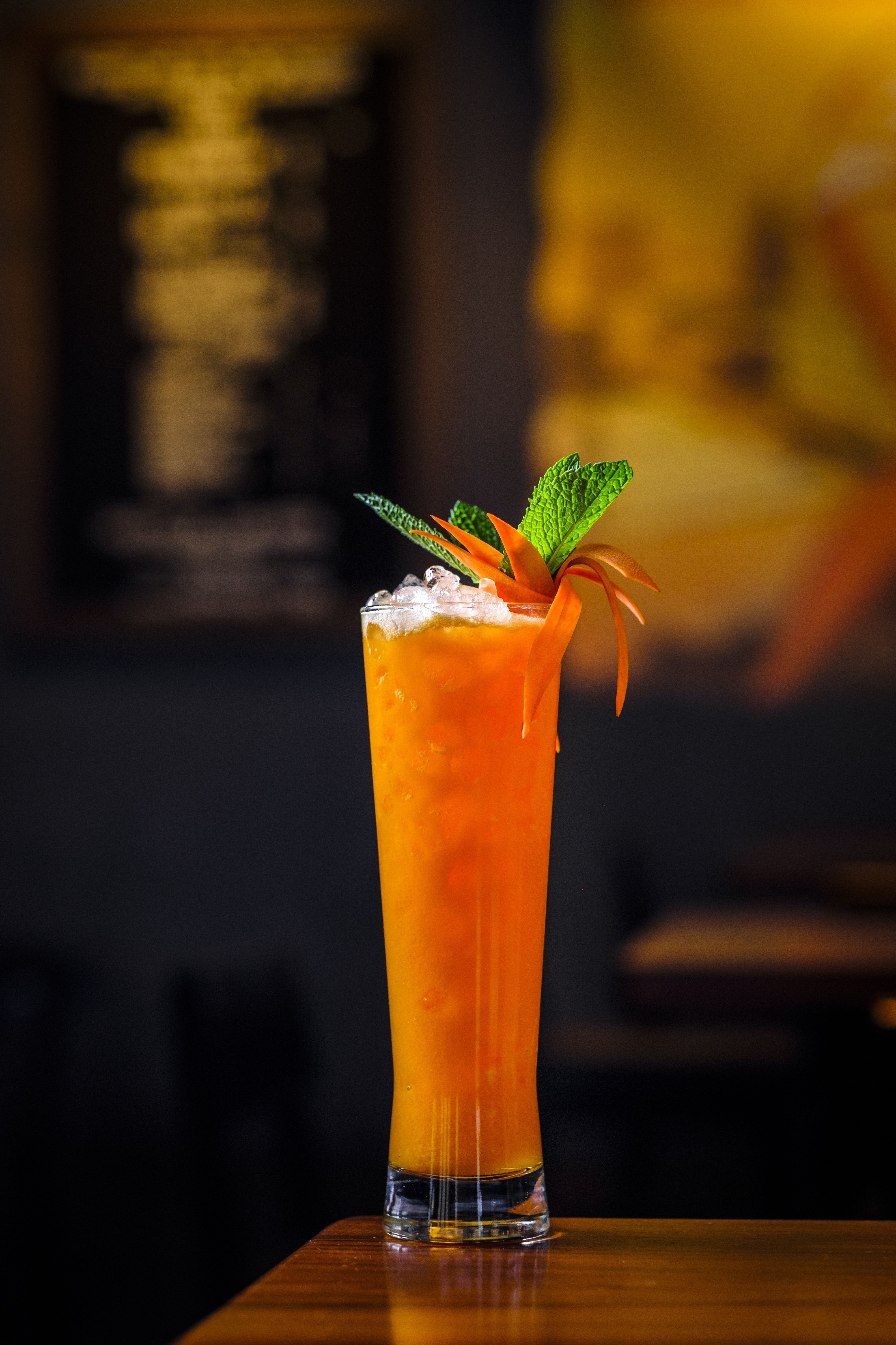 """Vodka meets vegetable in the """"I Don't Carrot All"""" at Bitter & Twisted."""
