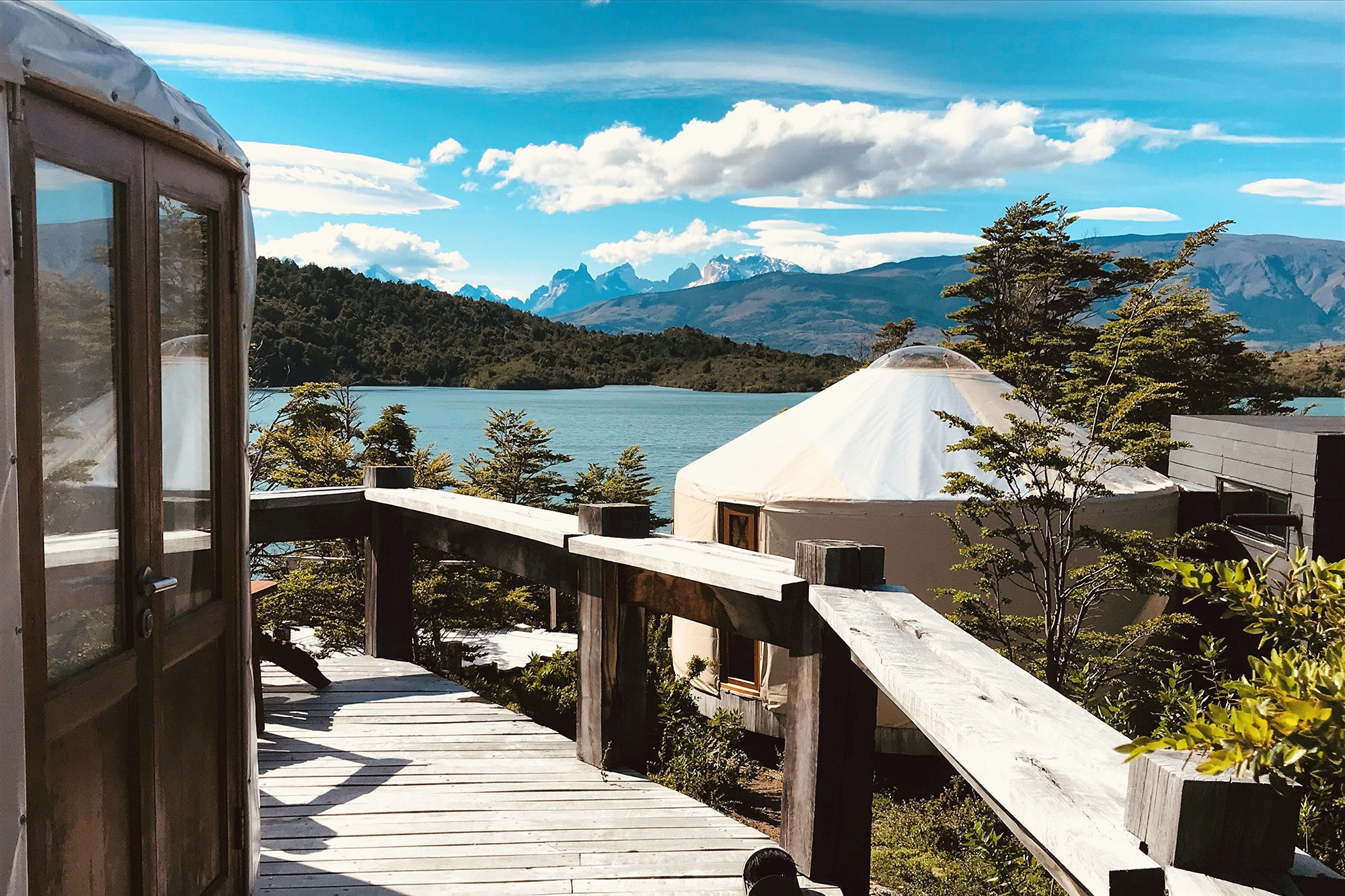 Patagonia Camp sits just outside Torres del Paine National Park in Chile, and its pristine, private landscapes offer guests a glimpse of what the area may have looked like before it became famous.