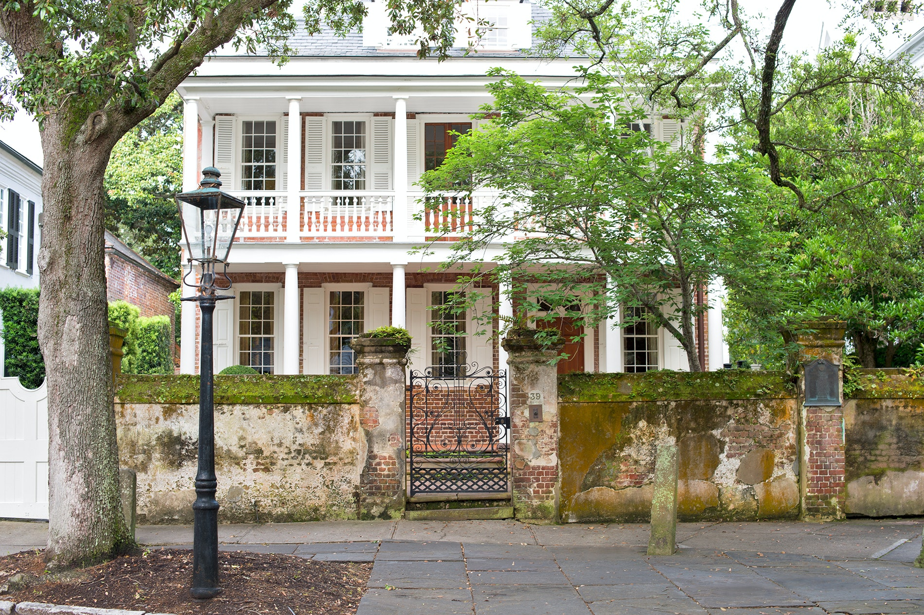 South Carolina's port city of Charleston was founded in 1670, and still has a recognizably historic French Quarter.