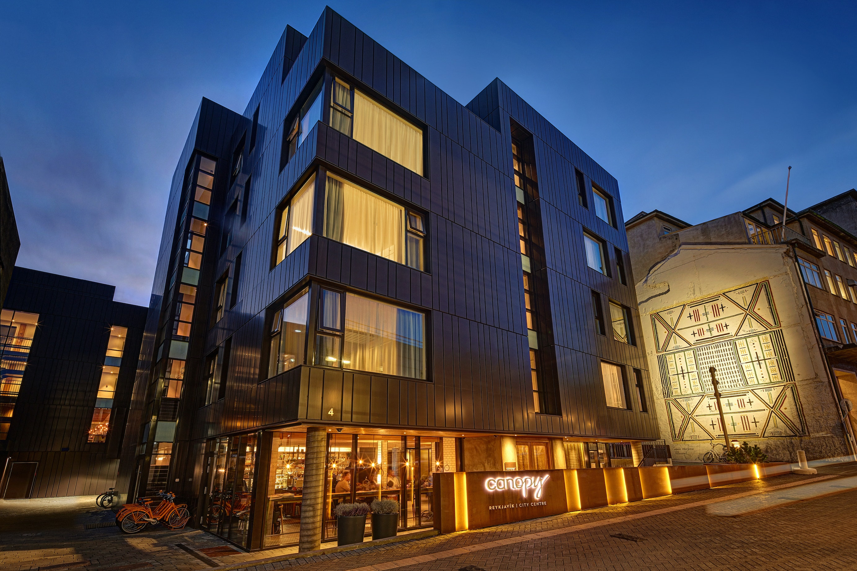 The Canopy by Hilton Reykjavík City Centre in Iceland launched the Canopy brand in 2016.