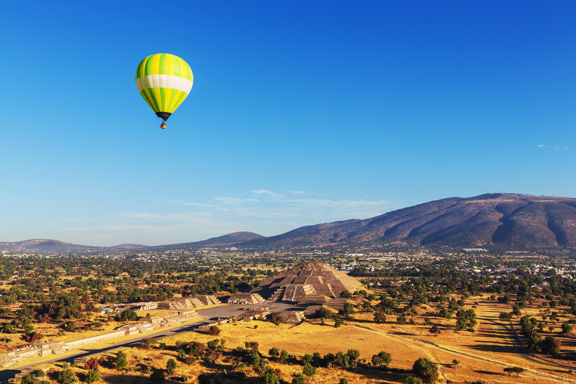 Teotihuacan is the site of some of the most significant, still-standing Mesoamerican pyramids.