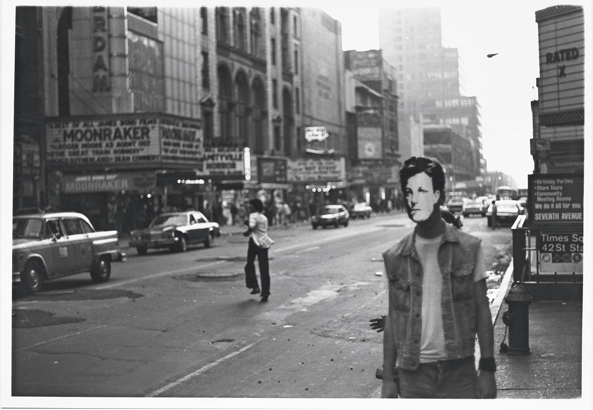 Arthur Rimbaud in New York, 1978-1979. The Wojnarowicz exhibit opens in Madrid in late May.