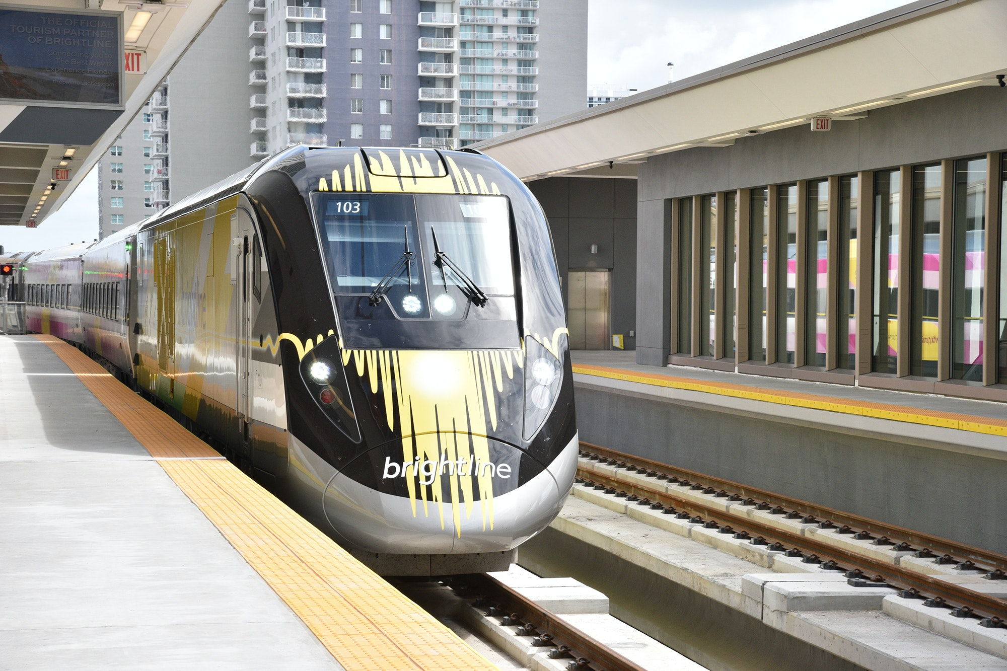 The Brightline train connecting Miami to West Palm Beach opened in May 2018. It will be extended to serve Orlando by 2021.
