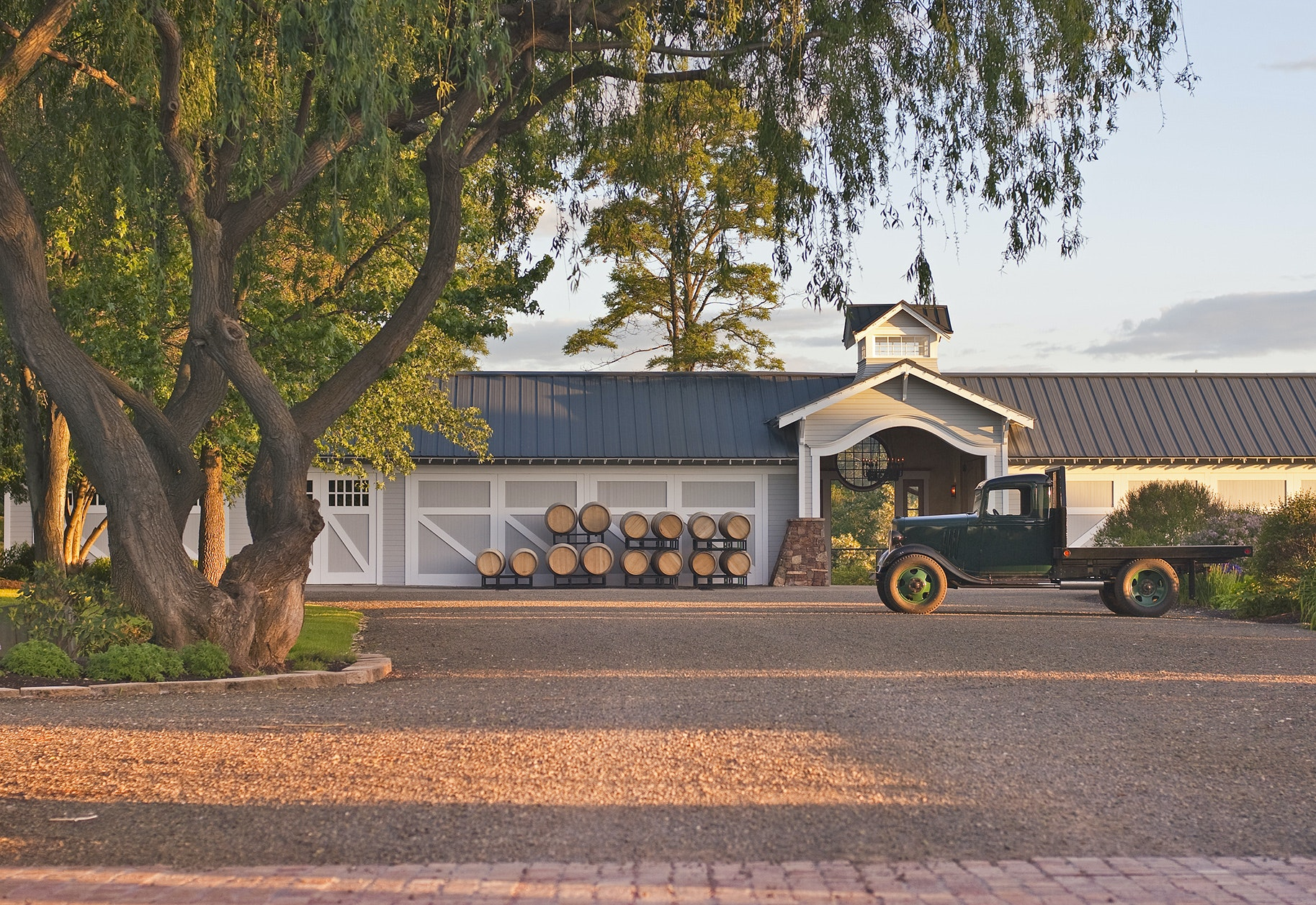 Visits to the Abeja winery's idyllic country farmhouse setting are by appointment only.