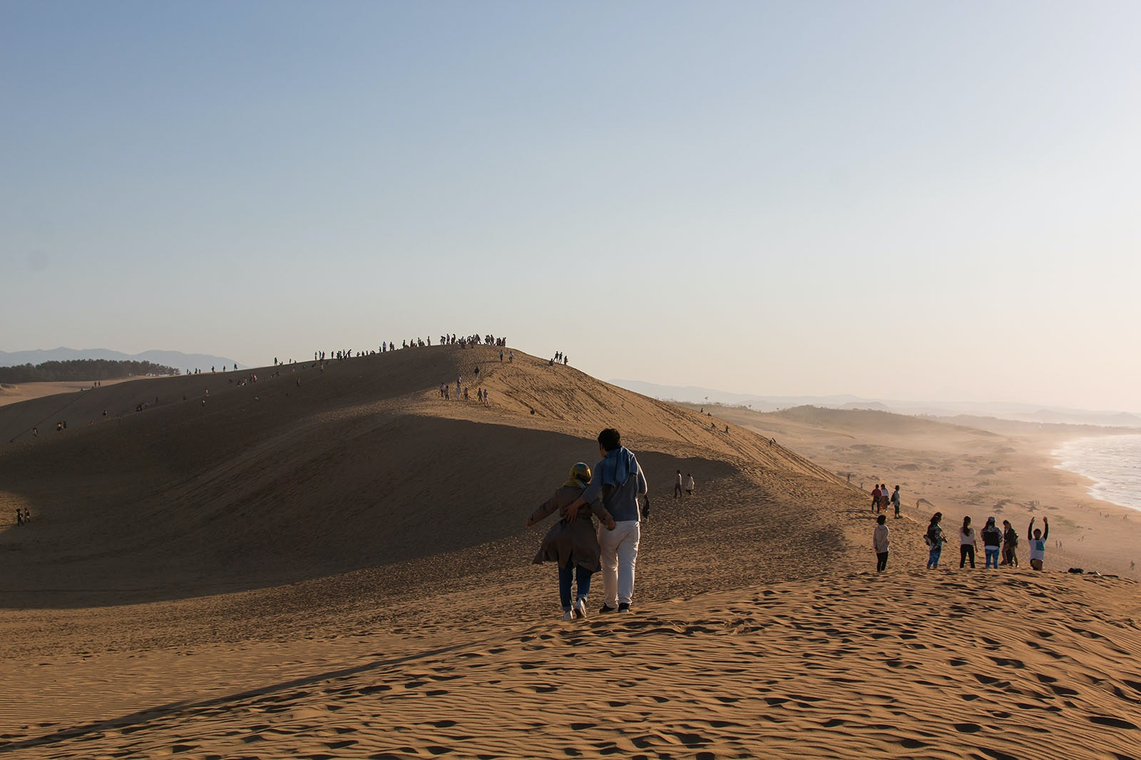There's more to do than just sandboard at the popular Tottori dunes.