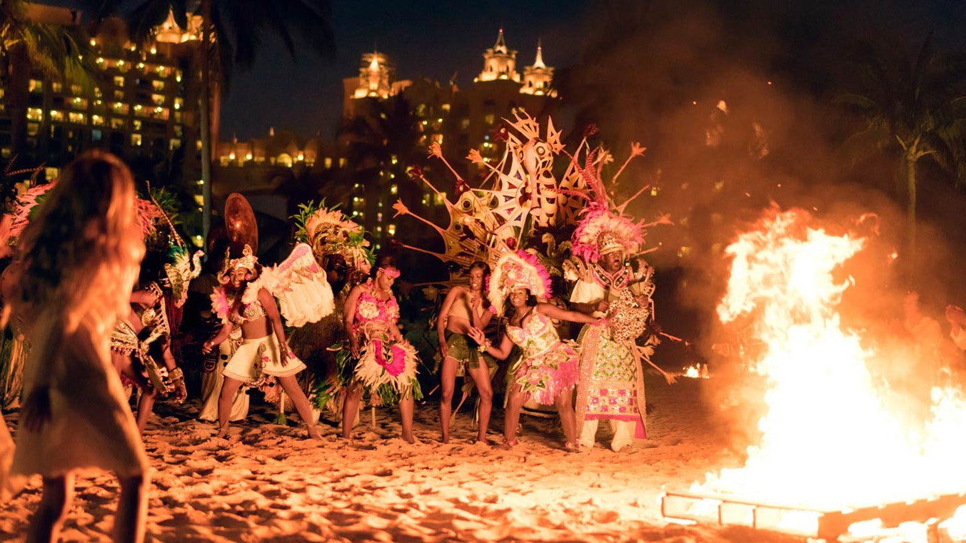 Pace yourself on New Year's Eve in the Bahamas, because the Junkanoo Festival makes some noise on January 1.