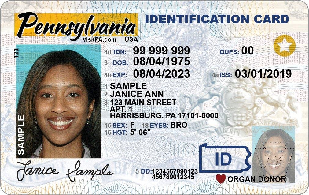 Real ID–compliant driver's licenses feature a star in the upper right-hand corner.