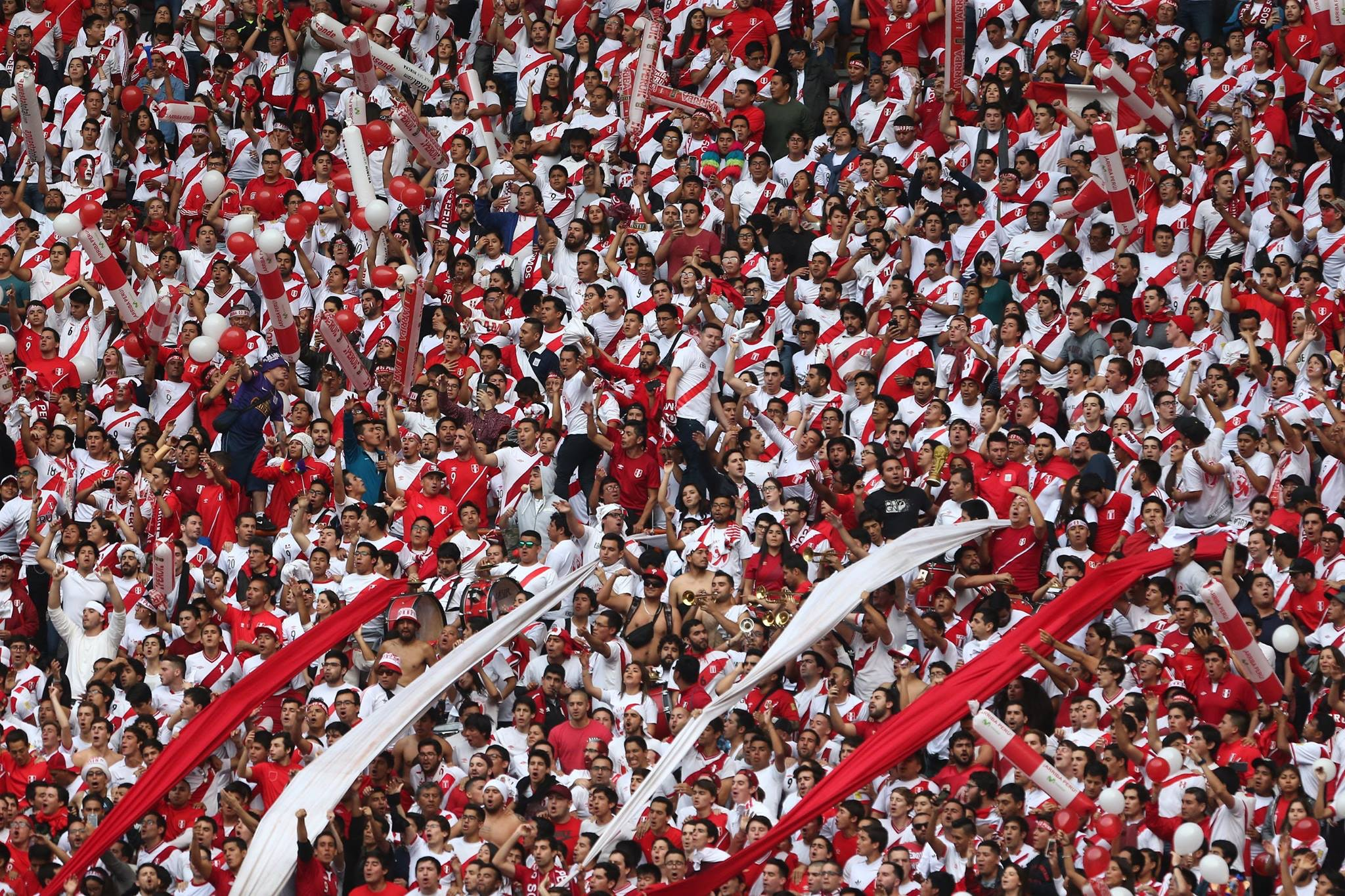 Peruvians have their first chance to cheer on their country at the World Cup in 36 years; you won't want to miss the party.
