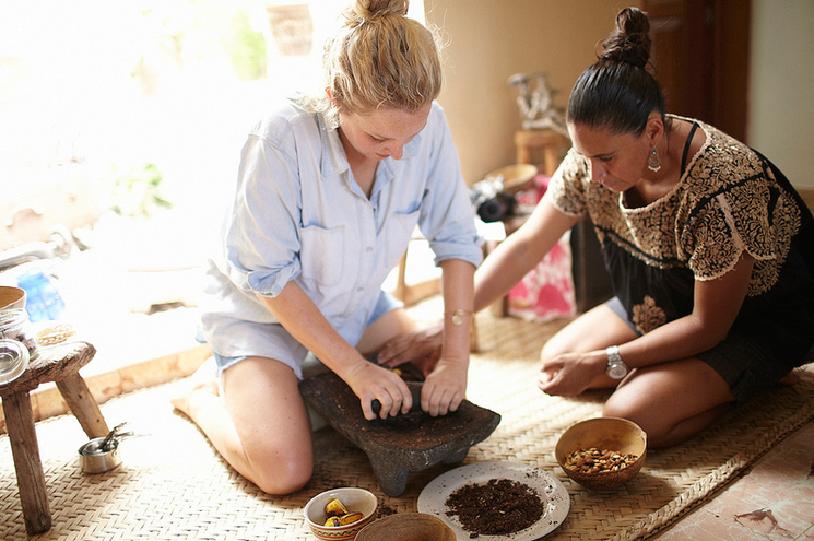 A private cooking class at Cetli