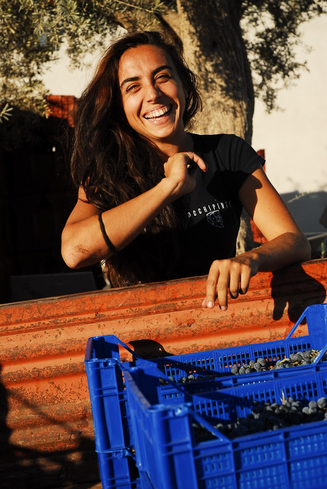 """Arianna Occhipinti is nicknamed the """"natural woman"""" for her approach to making wines."""