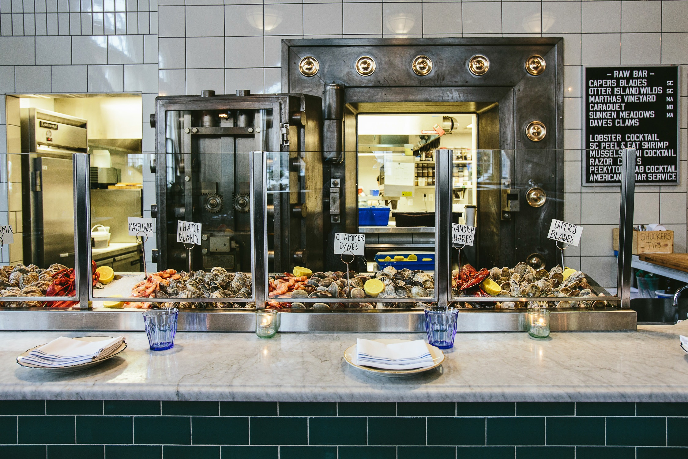 Charleston's The Ordinary was once a bank. Now, the building serves as a seafood hall.