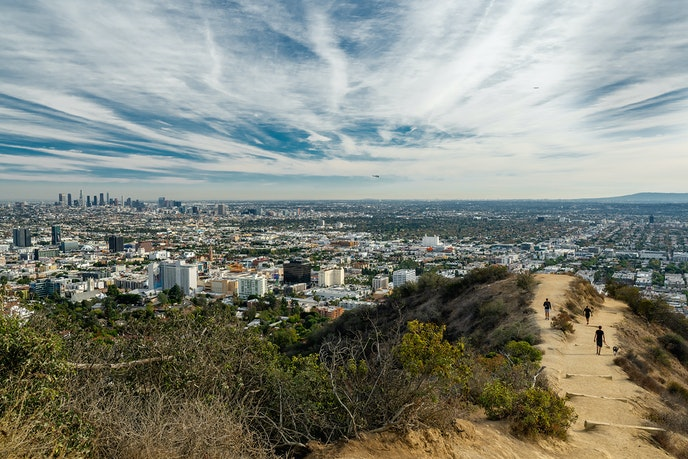 Runyon Canyon offers lots of room with a view.