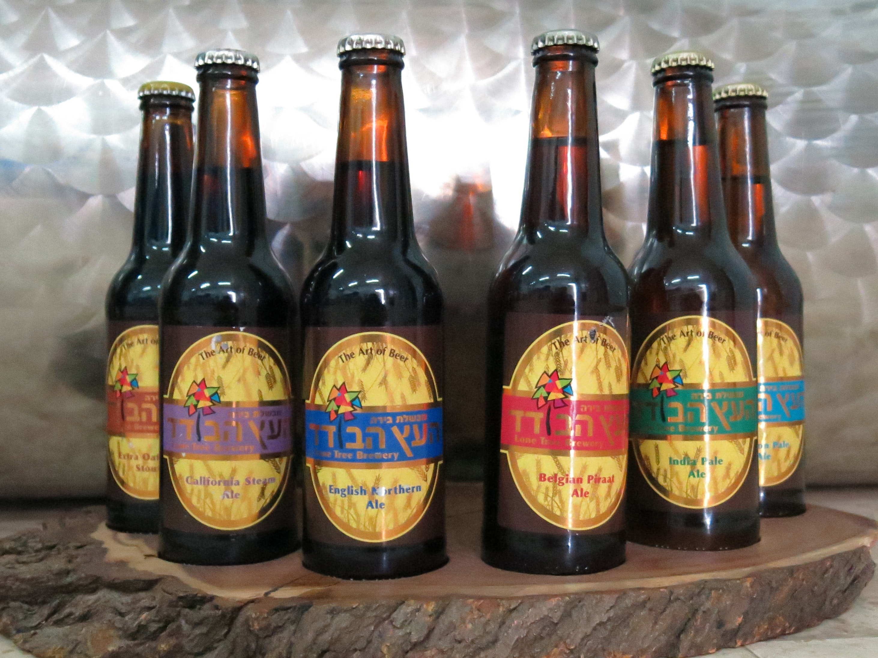 Lone Tree Brewery's range of craft beer