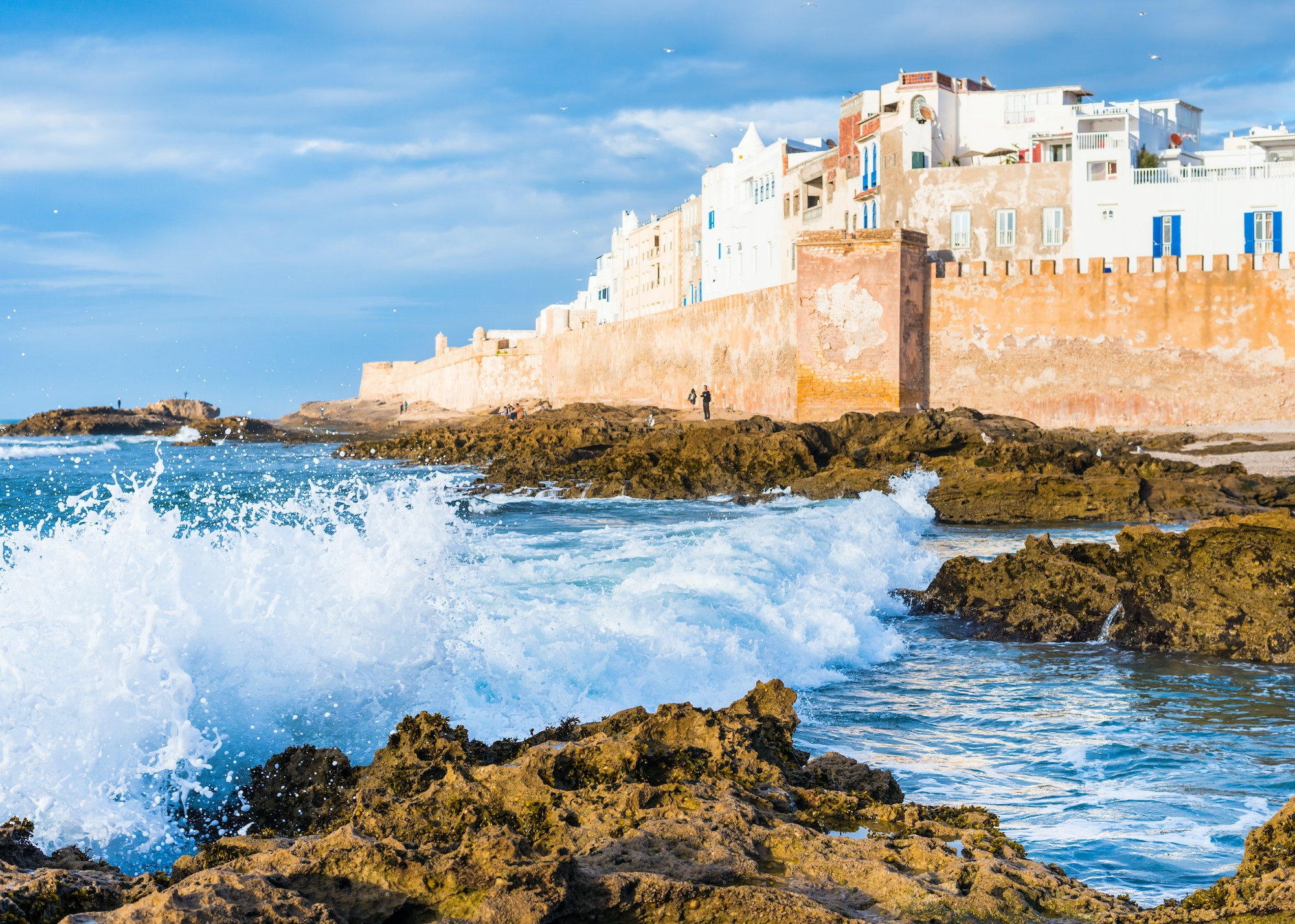 Essaouira's walled medina (formerly known as Mogador) is a UNESCO World Heritage site.