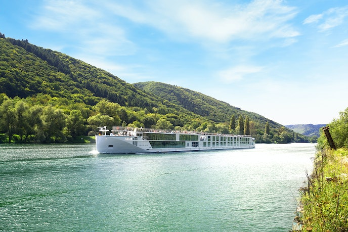 Sail the Rhine in style aboard one of Crystal Cruises's plush riverboats, with offerings like personal butlers, an indoor pool, and in-room iPads.
